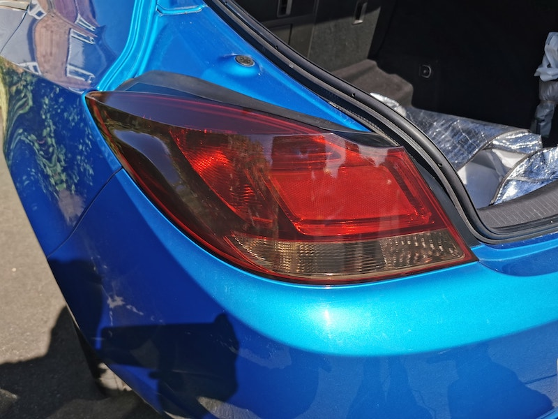 Mobile car light tinting service in Solihull